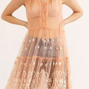 """FREE PEOPLE """"FP One Hearts Fly Slip"""""""